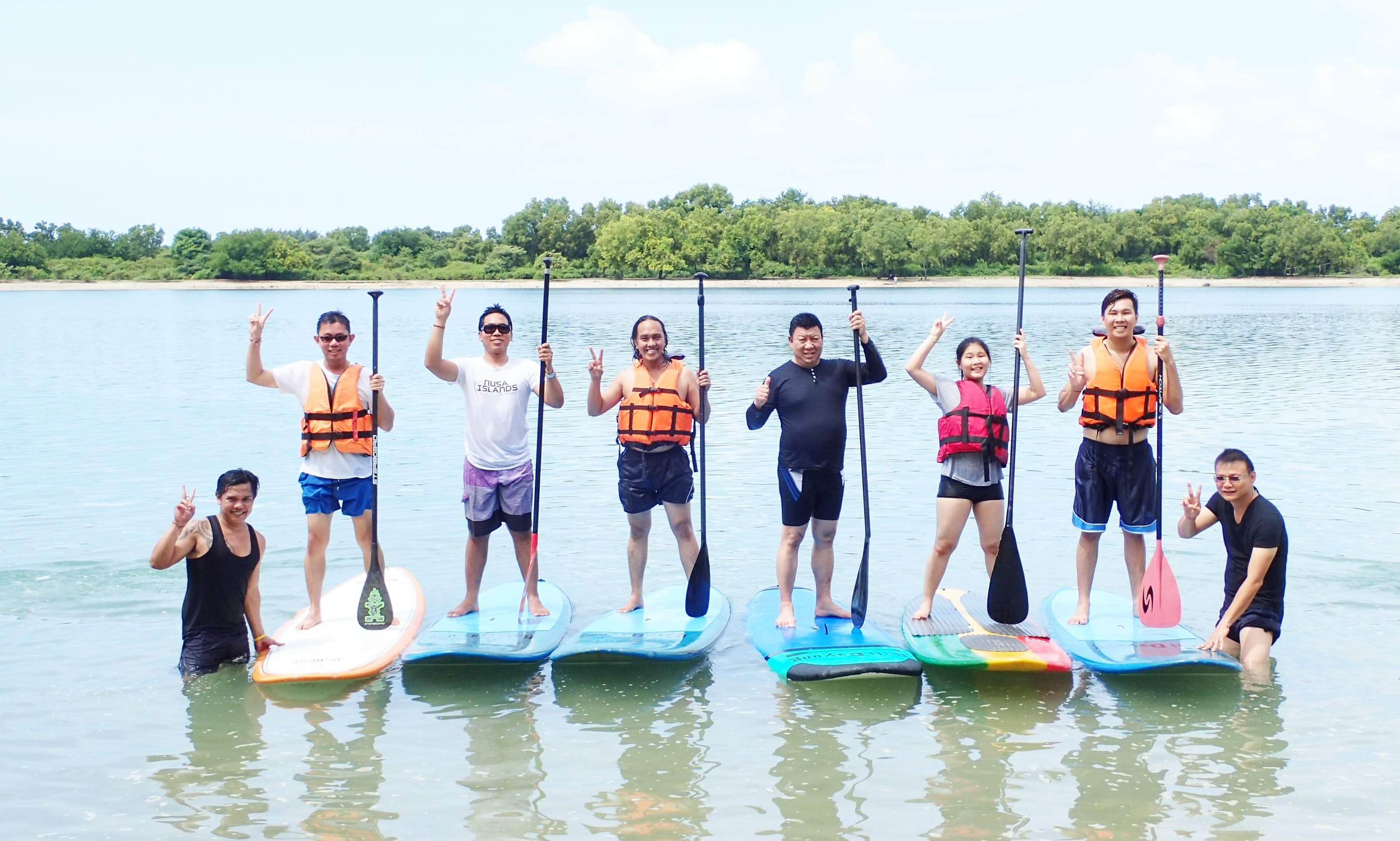 Awesome Single-Person Paddleboard for Rent in Denpasar Selatan, Bali