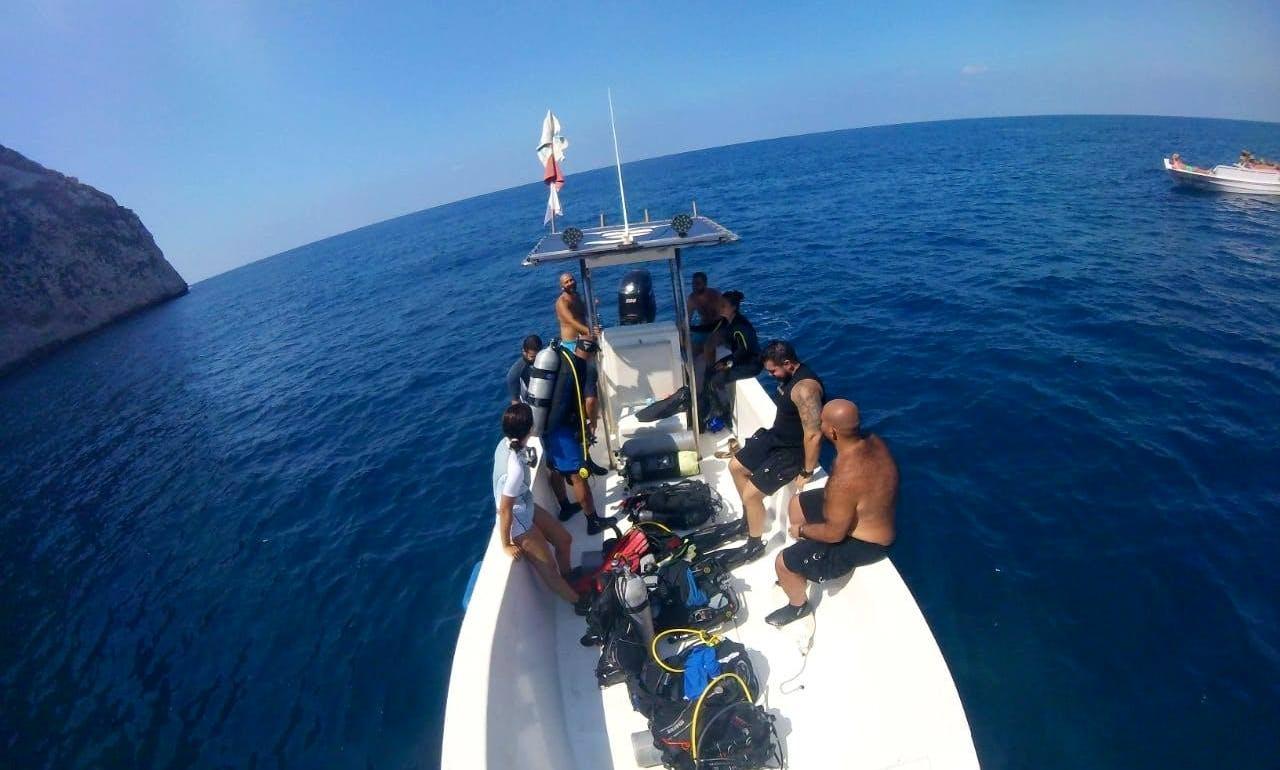 Dive Boat In Batroun
