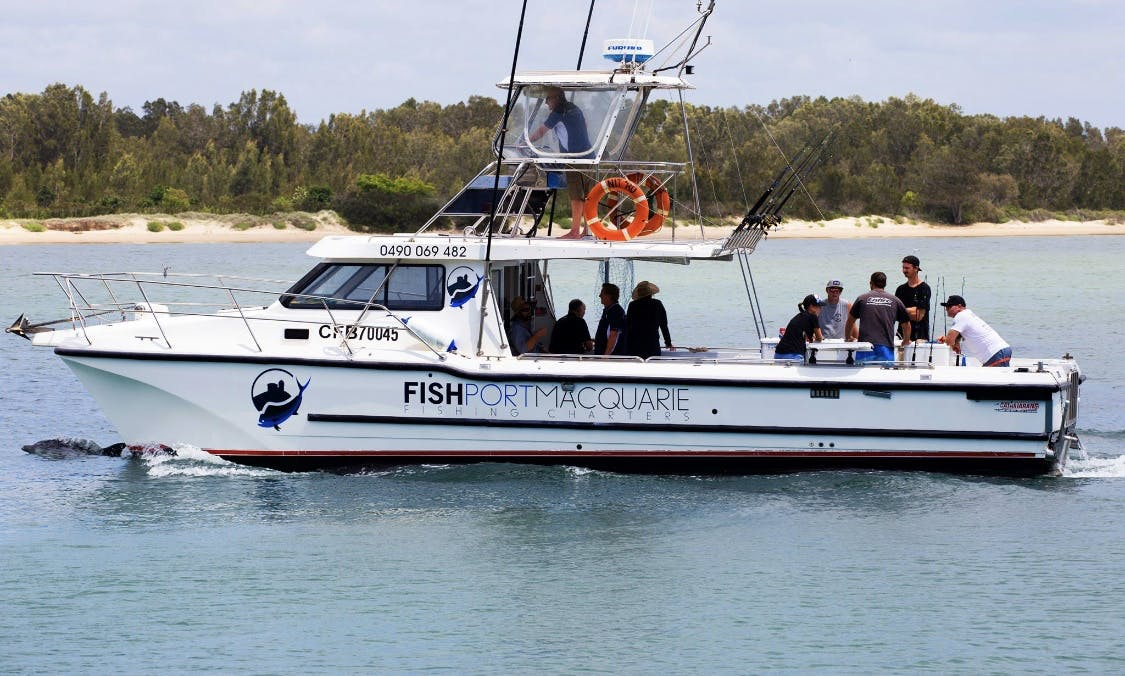Fishing Charters in Port Macquarie on board 12m Cougar Cat, Australia