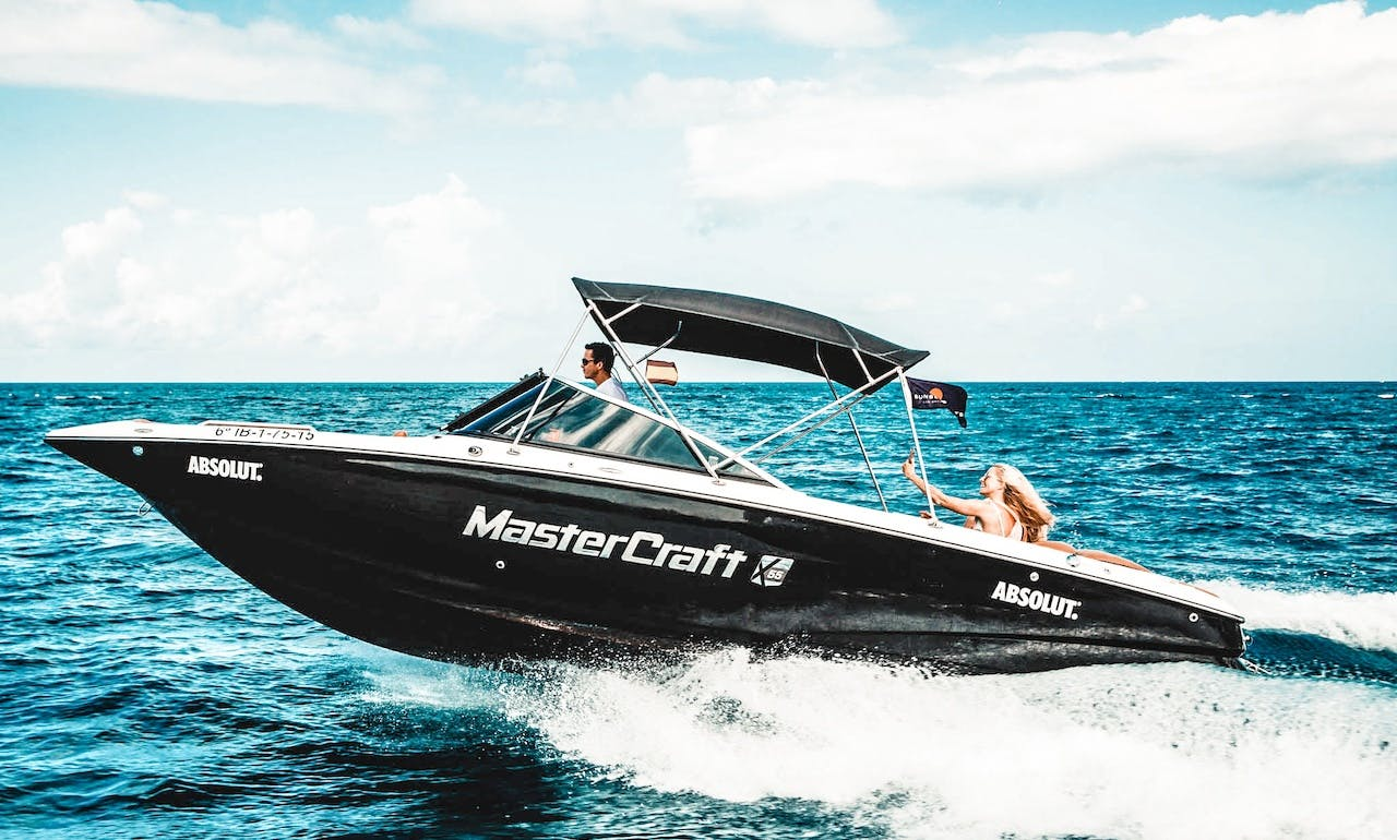 MASTERCRAFT X55 for Half & Full Day Cruises from 390€ -  10 guests