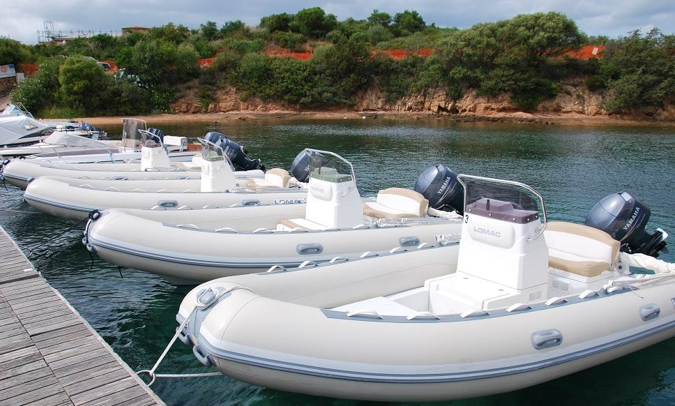 Rent this Lomac 520 RIB for Up to 6 People in Cannigione, Italy