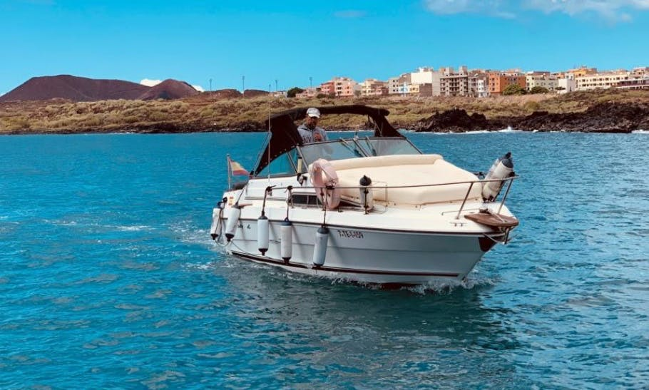 Rent this Power Boat for 6 People in Arona, Spain