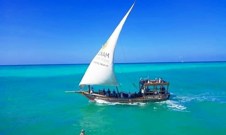 Amazing Dolphin Tour for Up to 15 People in Wasini Island, Kenya