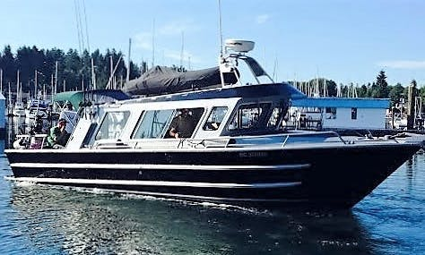 6-Person Fishing Boat Rental in Gibsons, Canada