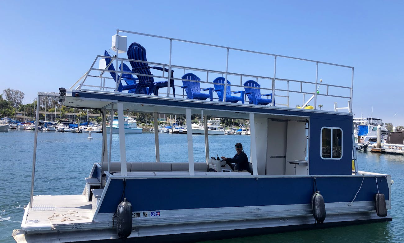 Double Decker Pontoon Party Boat