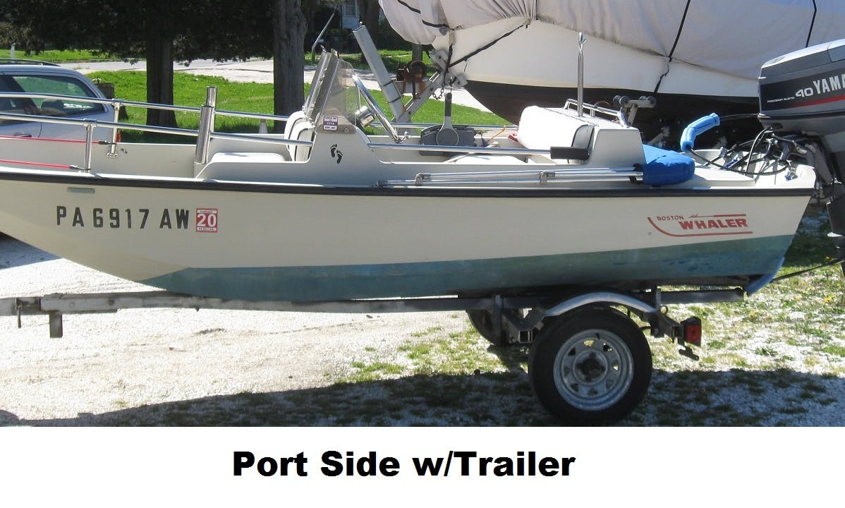 Rent a 13 ft Boston Whaler Sport Limited Edition Center Console in Tuckerton, New Jersey