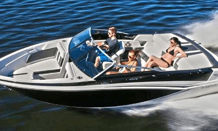 220 hp Glastron 625 Open Bowrider for Rent in Es Pelats, Spain