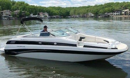 24' Crownline Deck Boat - Lake of the Ozarks