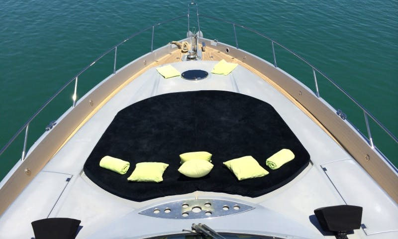 Charter this 1820 hp Sunseeker Predator 82 for 12 People in Ibiza Spain