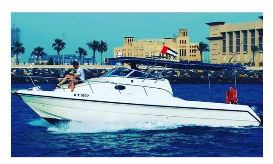 Crewed 31' Fishing and Cruising Boat in Dubai, United Arab Emirates