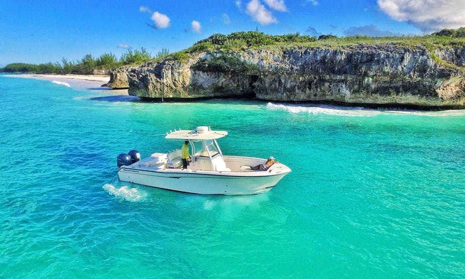 Explore the Bahamas on 28' Grady White Boat Charter in Spanish Wells