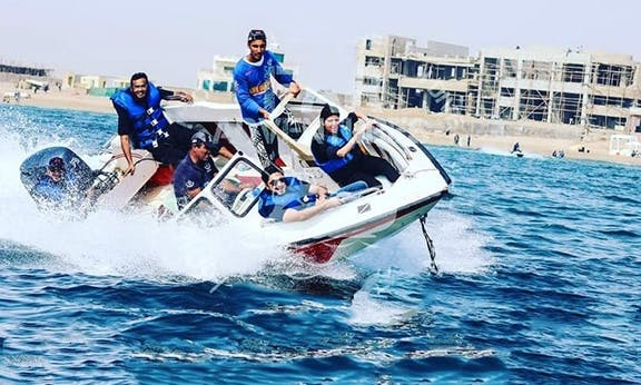 Speed Boat Stingray Bowrider Rental with Captain in Karachi
